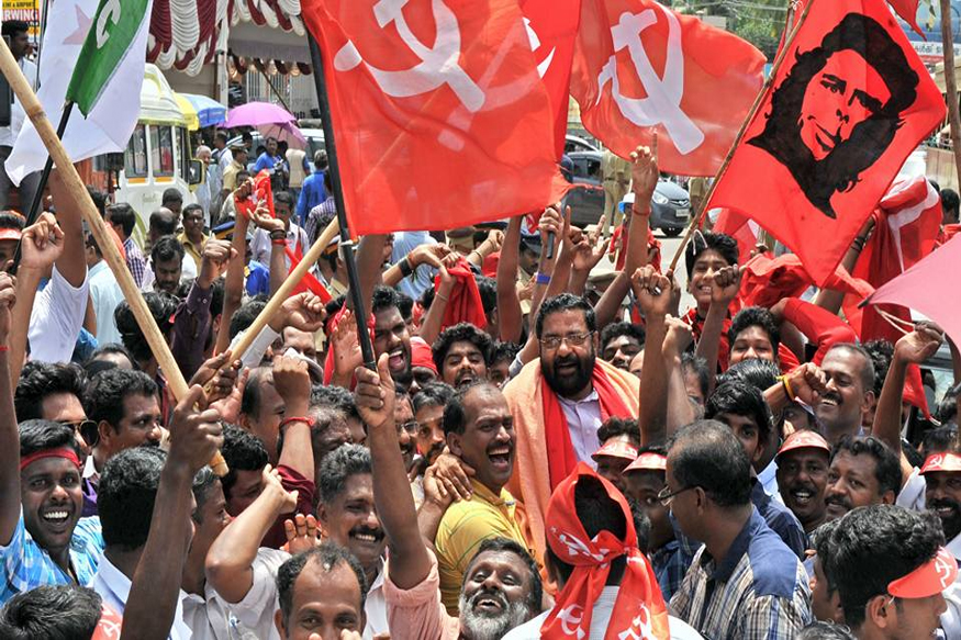 communist parties and India. Image Source: cpim.org
