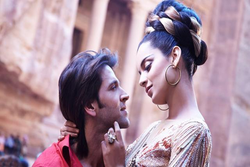 kangana ranaut and hrithik roshan film krrish 3 poster Image Source : Google