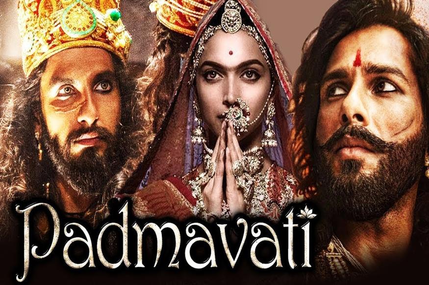 फिल्म पद्मावती की रिलीज को लेकर स्टैंड लेना एक तरह से कांग्रेस और भाजपा दोनों के लिए गले की हड्डी बन गया है. (फोटो: Film Poster)