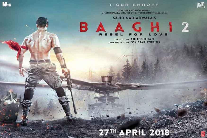 टाइगर श्रॉफ 'बागी 2' के अलावा एक हॉलीवुड फिल्म 'रेम्बो के रीमेक में नजर आएंगे. (फोटो : फिल्म पोस्टर)