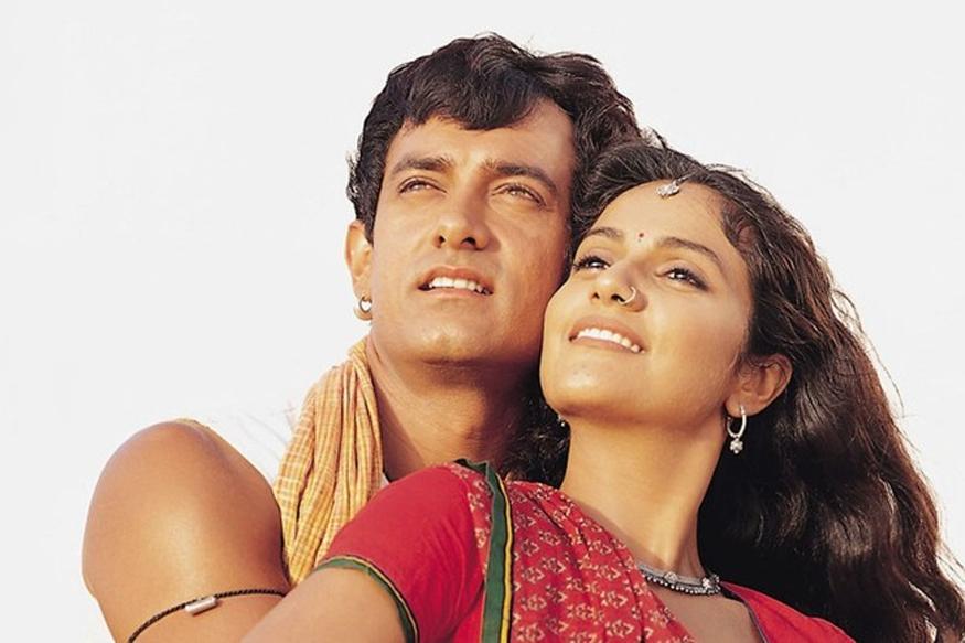 आमिर खान और ग्रेसी सिंह की जोड़ी लगान' (2003) में जबर्दस्त सफलता हासिल की थी. बाद में ये कभी दिखाई नहीं दिए. (फोटो : फिल्म पोस्टर लगान)