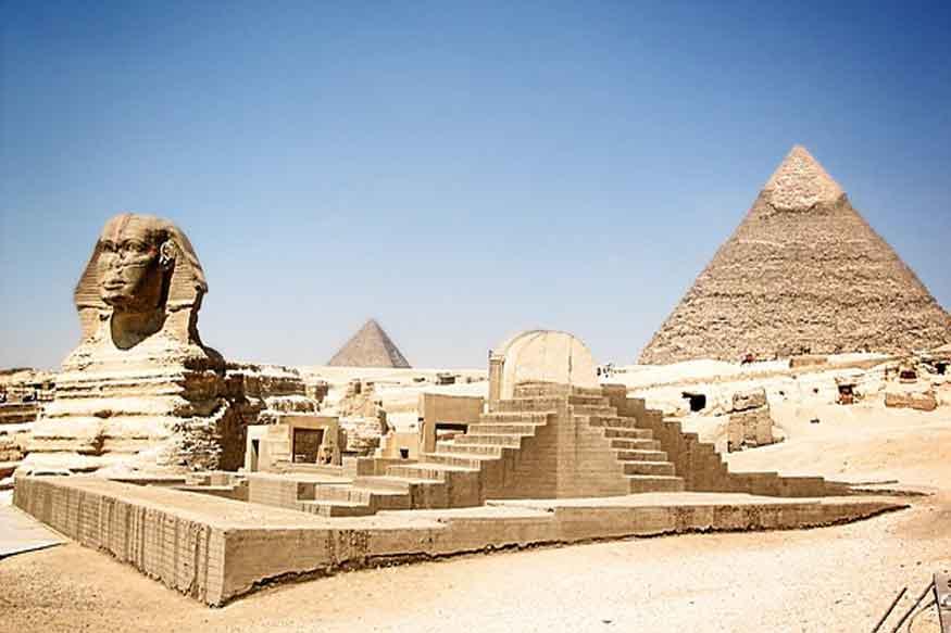 मिस्र के पिरामिड आज भी दुनिया के लिए कौतुक का विषय बनेे हुए हैं. (फोटो : pixabay.com)