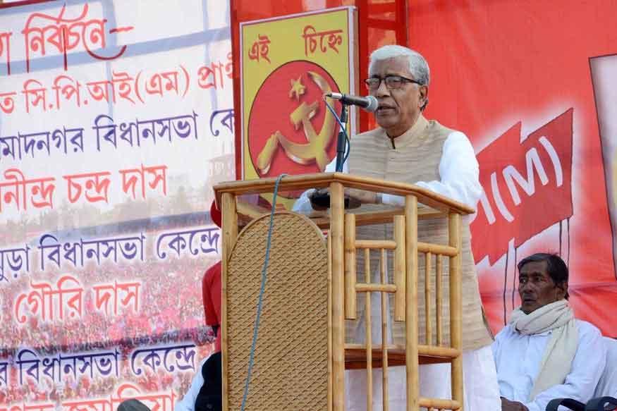 त्रिपुरा विधानसभा का चुनाव 18 फरवरी को कराए जाएंगे. यहां बीते 40 सालों से लेफ्ट की सत्ता है. (फोटो : CPM Twitter).